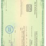 Образец удостоверения по охране труда HSA - Обучение